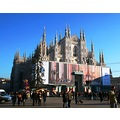 architecture sculpture building Cathedral view art history Milano litz