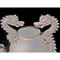 ceramics dragon dragons ceramic art oaklandartfph white whitefph