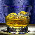 glass scotch ice