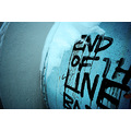 barrel tag graffiti blue drip
