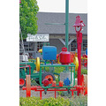 DanaPoint FarmersMarket Displays colorful Toolequipment