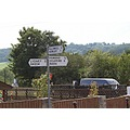 england forestofdean railway trains landscape signs