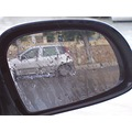 from the mirror of my car   while the rain starts to fall......
