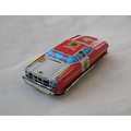 toy car tintoy tinplate japan firechief