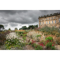 wentworth castle stately home flowers yorkshire sky hdr