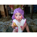 Jazmyn IceCream Cone Sitting Hat Headwear