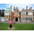 Visit to Bletchley Park and South Coast - Friday 19th August 2011   6. In fact he stood on this...