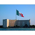 Cancun Hotel View from boat