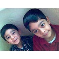 Azam and Khizar...two sweet but annoying nephew's...