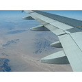 Flying Flight Airplane California Desert Sky Aerial View