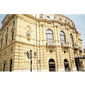 lovely building of the Szeged National Theatre, which just like the Budapest Vig Theatre was cons...