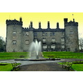 kilkenny castle architecture stone grounds lawns grass fountain