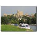 Windsor Castle River Thames Boats Boat