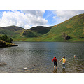 Swimming Lake District