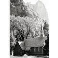 chapel in the meadow yosemite california 1984 nikon fm2 film bw