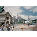 street Canada picture Banff June 2007 Busking Tour shot outside