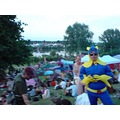Banana Man ready to save the day at a recent festival