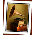 Wanted to try a different frame tints to see if it would focus the view more on the phonograph......