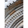 arches stone decorative carved colors