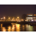 Cracow night Vistula river
