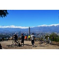 chile santiago san cristobal hill los andes mountain