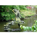 Water woman statue