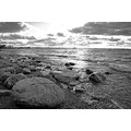 green bay nature rocks rock cloud black white water beach
