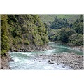 river landscape land water newzealand