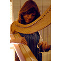 The harp player at le baule france