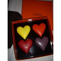 hearts chocolate