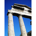 ancient column greece athens architecture