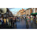 Pershore High Street hunt boxing day 2007 england