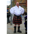 big bloke in a skirt