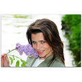 nature people lilac girl portrait bulgaria