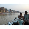 ganges india river rivers boat boats thinking varanassi holy city sacred boatmen