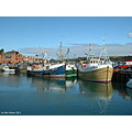 Padstow Cornwall England Fishing Boats Harbour Rob Hickey 2011