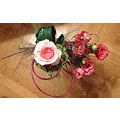 roses pink flowers bouquet