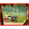 park playgrounf children people Prague Bohemia