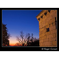 S�o Miguel do Castelo church at sunset