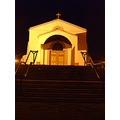 2010 portugal madeira church saojorge cabanas night