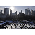 centralpark park newyorkcity ny skating ring iceskating people sun