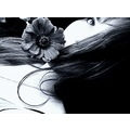 girl eye hair dreamy portrait flower feeling feelingrightbrained emotion