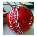 sports game cricket ball red