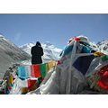 mteverest prayerflags china tibet buddhist