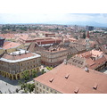 sibiu romania old medieval town cityscape panorama architecture europe
