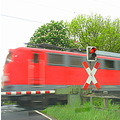 red danger train car papenburg germany