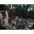 Deer Camp Burned To The Ground 041609