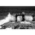 bw wave pier sea ocean power gunter