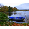 boat lake lough gill sligo Ireland blue
