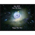 new yearclockspace